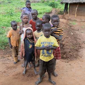 Karamojong children