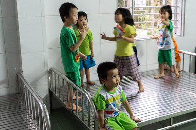 In the orphanage in Hue