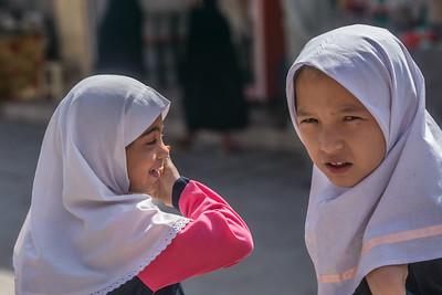 In the Kerman bazaar