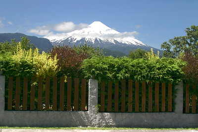 Villa Rica volcano taken in Pucón, Chile. Yes, this is an active volcano.