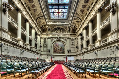 Congreso Nacional de Chile built in 1876