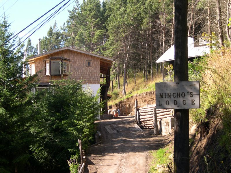 We spent one night at Mincho's Lodge in Coyhaique.
