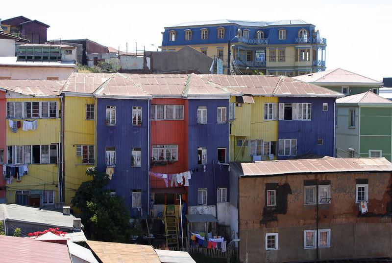 The Bellavista barrio in Valparaiso