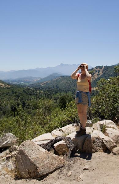 Clara in La Campana national park