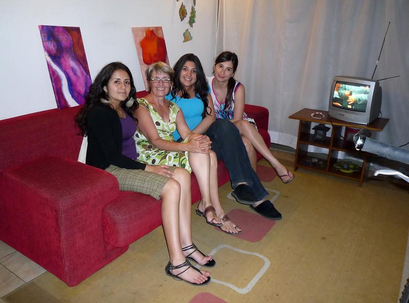 Four lovely ladies (Margarita, Clara, Barbara and Loreto)