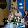 Last evening - dinner in El Azul Profundo (Santiago) with Clara, Bart and Margarita