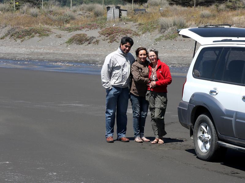 Juan Carlos, Jeanette and Clara