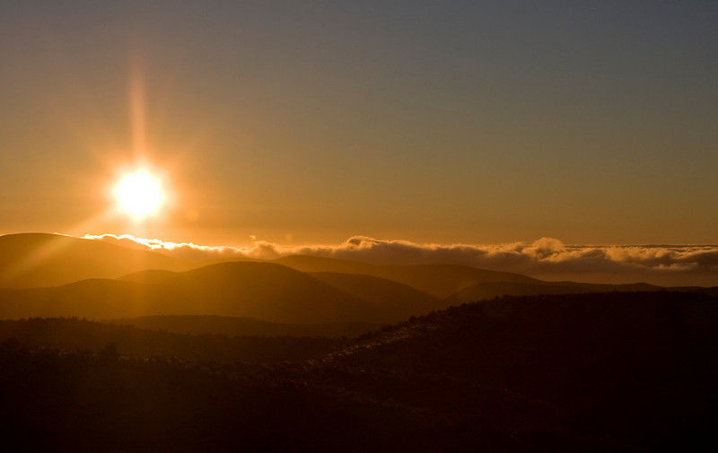 Sunset over Fray Jorge