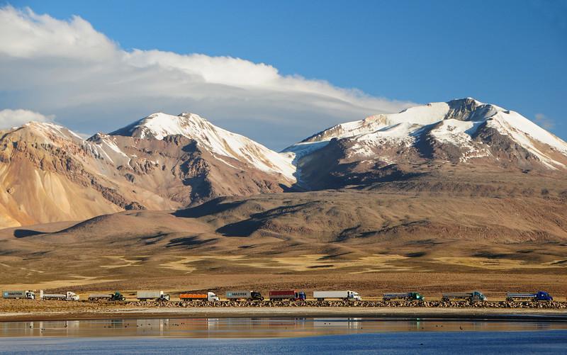 Chile/Bolivia border at Tambo(?) Churiguaya (road from Putre)
