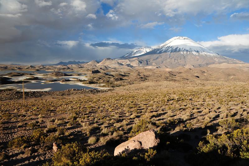 Parinacota Volcano. Lauca NP