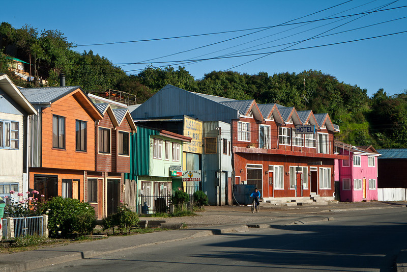 Castro waterfront scene