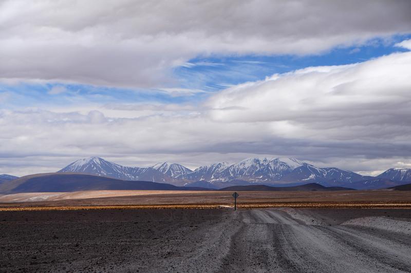 Approaching Parque Nacional Salar de Huasco from the north