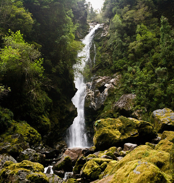 The <em>cascadas</em> at the end of the trail. Well worth it.