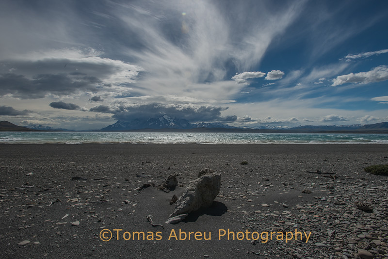 Lake Sarmiento, Torres del Paine National Park, Chile