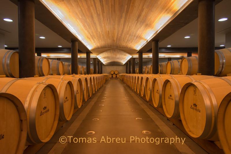 Lapostolle wine cellars