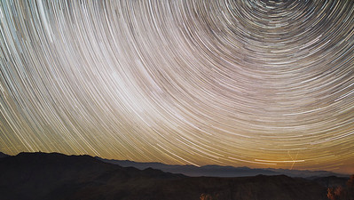 Star Trails to the South.