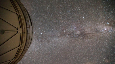 Milkyway, Corinea and Blanco Dome