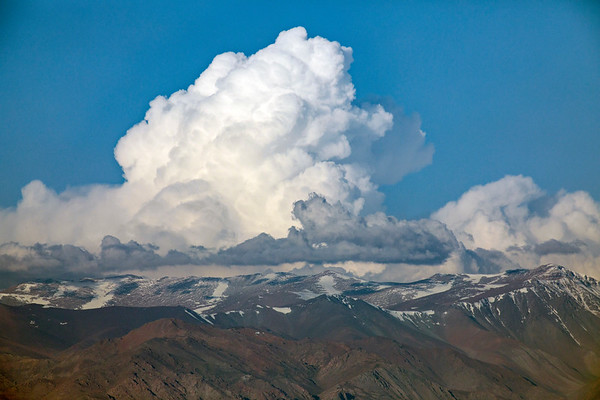 Storms Clouds Over the Andes