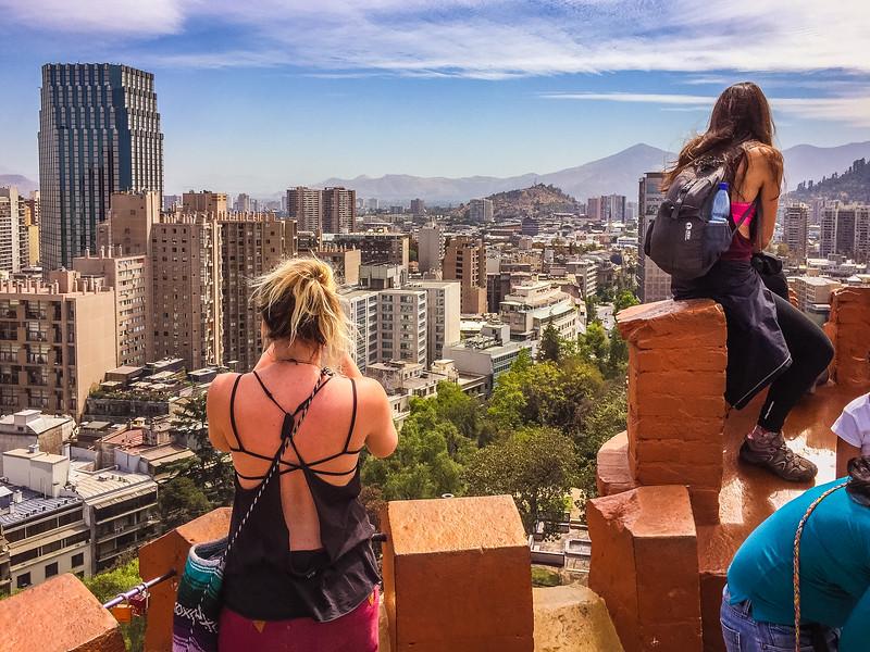 Taken in Santiago, Chile
