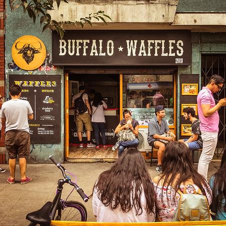 Buffalo Waffles - Santiago, Chile