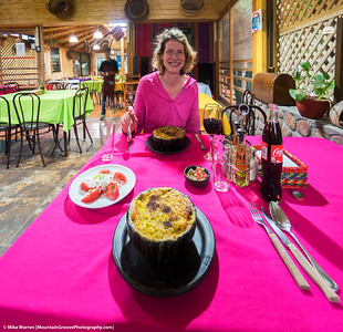 Authentic Chilean dish of Pastel de Choclo