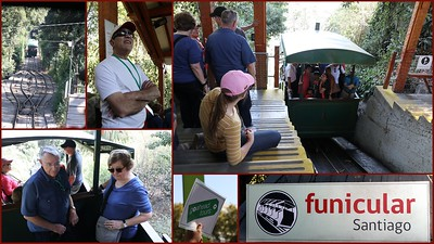 For an incredible view of the largest city in the Americas - take the funicular to the top