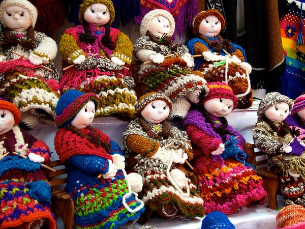 Traditional  woollen dolls