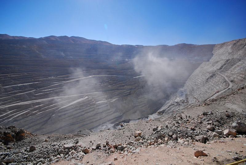Chuquicamata Coppermine,  Calama