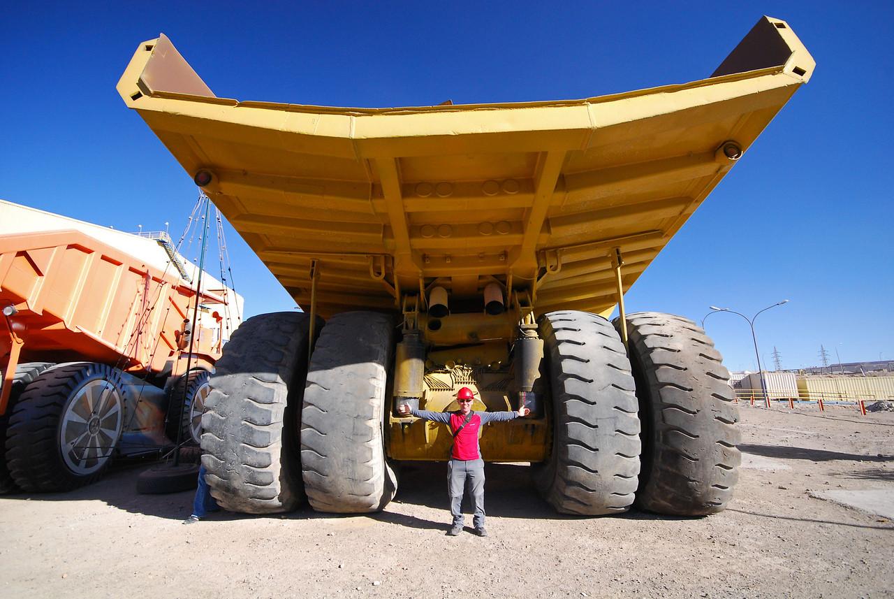 Baby! 175 Tonne (payload) Chuquicamata Coppermine,  Calama