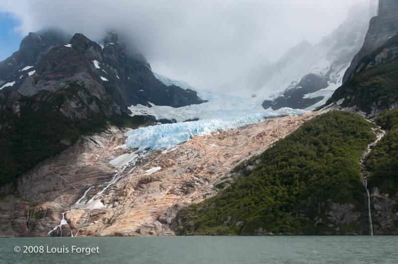 Balmaceda Glaciar, Seno Ultima Esperanza