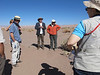Our guide, Professor Calogero Santoro, was a leading expert on the archaeology of desert people in the Atacama.