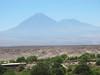 Looking toward the Licancabur volcano towering over San Pedro de Atacama, which was considered sacred by the Incas.