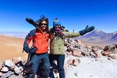 Nacho and I at Cerro Toco