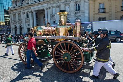 Bomberos Parade and Display Sept.2013