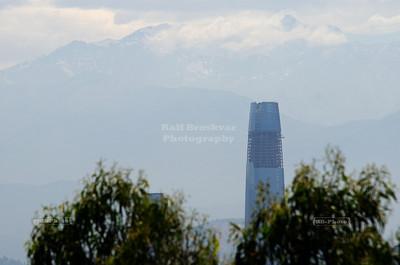 Santa Lucia Hill (Cerro Santa Lucía) in Santiago de Chile