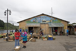 Fish Market in Chiloe Island.