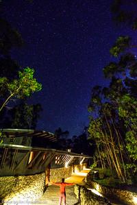 Starry night at explora Rapa Nui