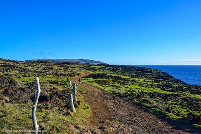 Hiking Rapa Nui