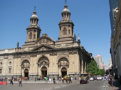 Metropolitan Cathedral, 1780. Five earlier ones were destroyed in earthquakes.