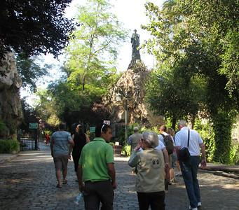 Cerro Santa Lucia park.