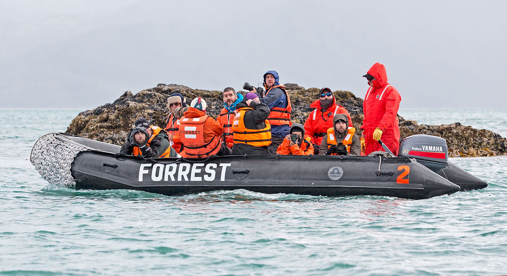Forrest cruise of the Straits of Magellans