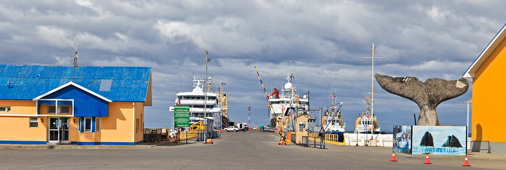 Port of Punta Arenas, Chile
