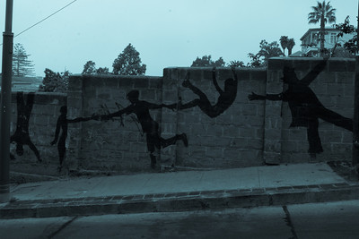 artwork on the valparaiso streets