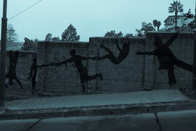 artwork on the valparaiso streets