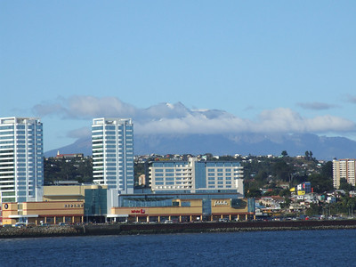 Shoreline of Puerto Montt