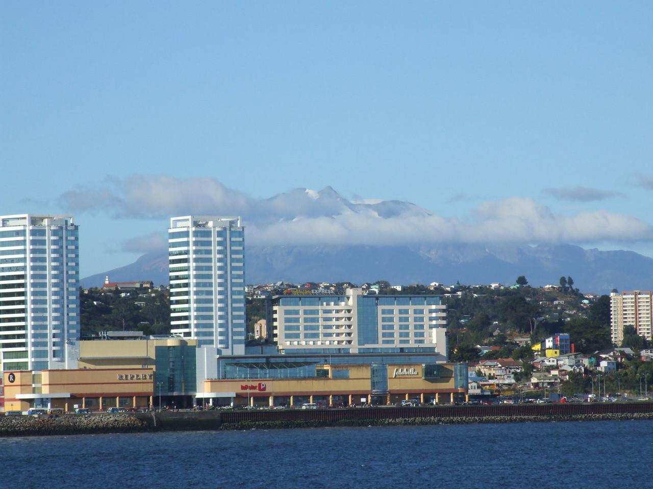 Shoreline of Puerto Montt