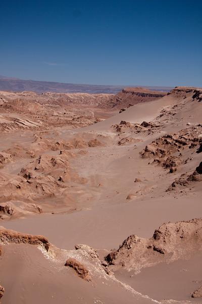 Tierra Atacama valle de la luna