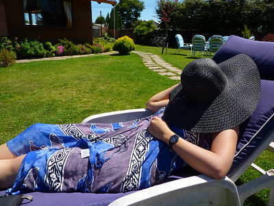 this is how I normally sunbathe