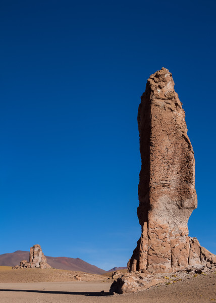 Panorama of Monjes de la Packana Atacama desert Chile