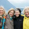 Happy Four on Cerro Campanario, Bariloche, Argentina